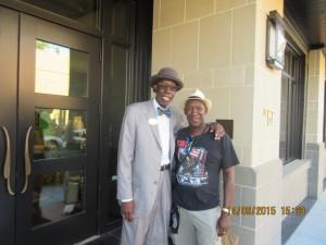 Oral historian Mr P in Charleston